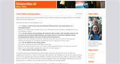 Preview of blog.fabianonline.de