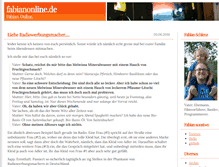 Tablet Preview of blog.fabianonline.de